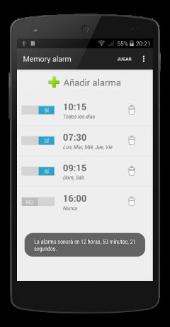 Memory alarm 01